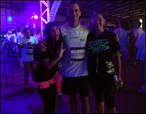 All 3 Glow Run